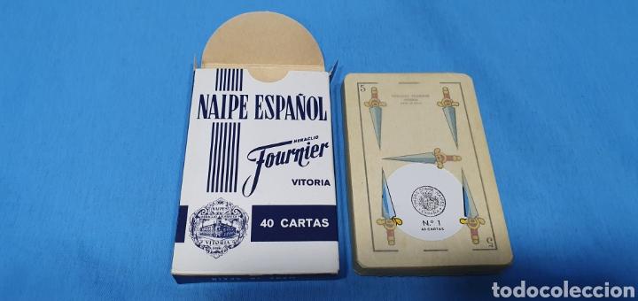Barajas de cartas: BARAJA ESPAÑOLA FOURNIER - 40 CARTAS - Foto 3 - 235889690