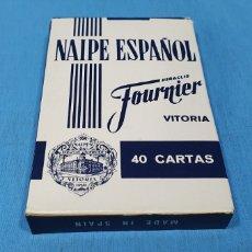 Barajas de cartas: BARAJA ESPAÑOLA FOURNIER - 40 CARTAS. Lote 235889690