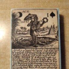 Barajas de cartas: BARAJA GEOGRÁFICA. ISLAS BRITÁNICAS, SIGLO XVII ( 1670) - 52 CARTAS. FASCIMIL. MUSEO FOURNIER.2004. Lote 235998045