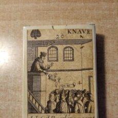 Barajas de cartas: BARAJA REVOLUCIÓN. ISLAS BRITÁNICAS, SIGLO XVII ( 1689) - 52 CARTAS. FASCIMIL. MUSEO FOURNIER.2004. Lote 236005035