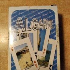 Barajas de cartas: ALGARVE. PORTUGAL. BARAJA DE POKER DE 54 CARTAS. VISTAS DE LUGARES TURÍSTICOS.. Lote 236223475
