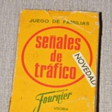 Barajas de cartas: SEÑALES DE TRAFICO FOURNIER CARTAS AÑO 1972 FALTAN INSTRUCCIONES. Lote 236247220