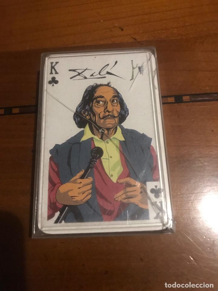 JUEGO DE CARTAS , DALÍ , PICASSO , MIRÓ . (Juguetes y Juegos - Cartas y Naipes - Otras Barajas)