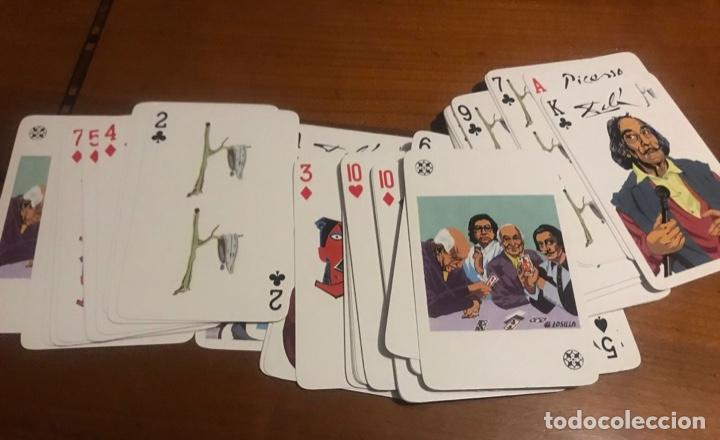 Barajas de cartas: JUEGO DE CARTAS , DALÍ , PICASSO , MIRÓ . - Foto 3 - 236372550