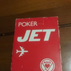 Barajas de cartas: JUEGO DE CARTAS PÓKER JET , PRECINTADO .. Lote 236373600