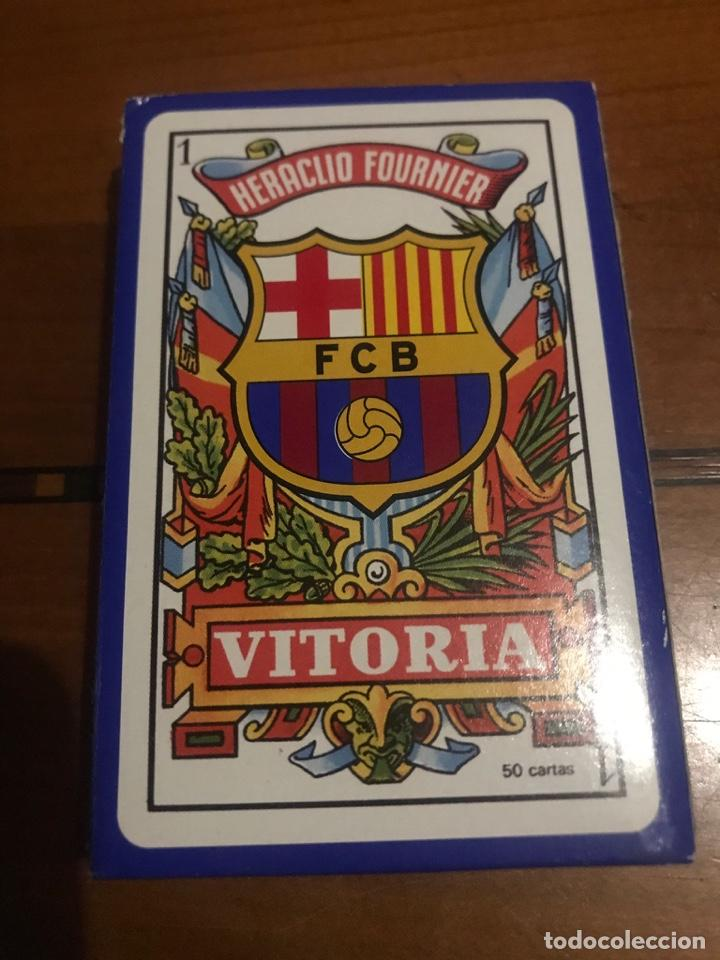JUEGO DE CARTAS F.C.B. BARÇA (Juguetes y Juegos - Cartas y Naipes - Otras Barajas)
