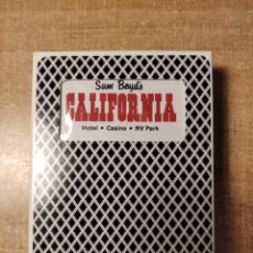 Barajas de cartas: SAM BOYD´S CALIFORNIA. HOTEL-CASINO. BARAJA DE POKER PUBLICITARIA DE 54 CARTAS. BEE.PLAYING CARDS.. Lote 236430030