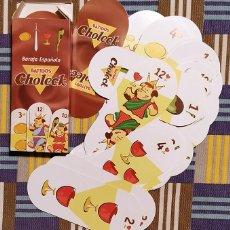 Barajas de cartas: ORIGINAL BARAJA ESPAÑOLA DE 40 CARTAS. PUBLICIDAD DE BATIDOS CHOLECK. Lote 236432515