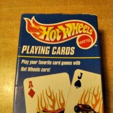 Barajas de cartas: HOT WHEELS. PLAYING CARDS. MATTEL. BARAJA DE POKER DE 56 CARTAS. AÑO 2000.. Lote 236438465