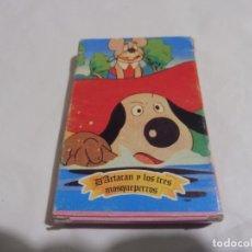 Barajas de cartas: BARAJA D'ARTACAN Y LOS TRES MOSQUEPERROS B.R.B. 1981 COMPLETA. Lote 236442955