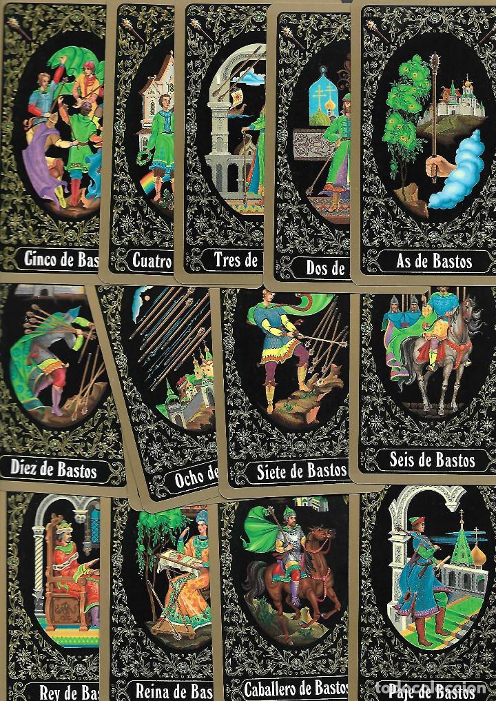 Barajas de cartas: Baraja del Tarot Ruso de San Petersburgo. Yury Shakov. 80 cartas. en bolsa de tela estado perfecto - Foto 2 - 236598340