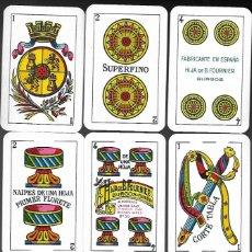 Barajas de cartas: BARAJA HIJA DE B. FOURNIER, MARFIL 1ª, CORONA MURAL. TIMBRE ROJO 1936, PRECINTADA Y EN SU ESTUCHE.. Lote 237076740