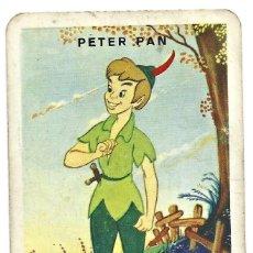 Mazzi di carte: HERACLIO FOURNIER - PETER PAN - DESFILE 1957 - NAIPE SUELTO - TRASERA ROJA. Lote 237268140