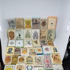 Barajas de cartas: GRAN LOTE 45 BARAJAS COLECCION MUSEO FOURNIER DE ALAVA NAIPES TAROT. Lote 237285840