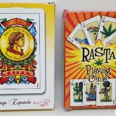 Barajas de cartas: BARAJAS DE CARTAS NAIPES RASTA Y NUEVO ESTILO GABRIEL FUENTES. Lote 237306655