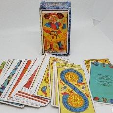 Barajas de cartas: BARAJAS DE CARTAS NAIPES TAROT MARSELLA HERACLIO FOURNIER. Lote 237308005