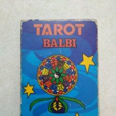 Barajas de cartas: TAROT BALBI BILINGUE, CARD 78 CARTAS, HERACLIO FOURNIER VITORIA, MADE IN SPAIN. Lote 237405165