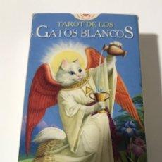 Barajas de cartas: TAROT DE LOS GATOS BLANCOS. Lote 237415010