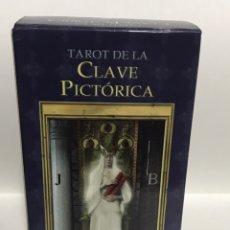 Barajas de cartas: TAROT LA CLAVE PICTÓRICA. Lote 237415055