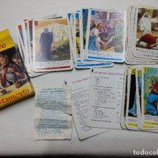 Barajas de cartas: BARAJA INFANTIL FOURNIER. NUEVO TESTAMENTO. 48 CARTAS. AÑO 1970. COMPLETA. Lote 237580505