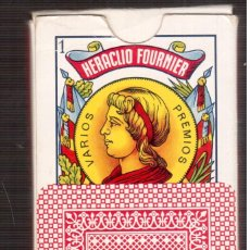 Barajas de cartas: BARAJA ESPAÑOLA FOURNIER LA QUE VES QUE VES. Lote 237750235