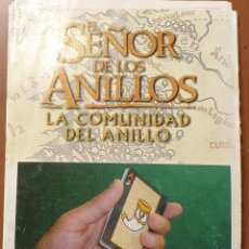 Barajas de cartas: INSTRUCCIONES DE MAGIA SEÑOR DE LOS ANILLOS. Lote 237758290