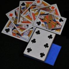 Barajas de cartas: 26 CARTAS DE POKER DEL SIGLO XIX - DIAMANTES Y TREBOLES COMPLETOS -. Lote 238846865