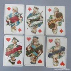 Barajas de cartas: CARTAS DE POKER - FABRICADAS EN ALEMANIA EN 1932 - MUY BUEN ESTADO -. Lote 238850190