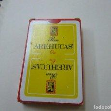 Barajas de cartas: RON AREHUCAS - BARAJA - NAIPRS COMAS - N 2. Lote 239385610