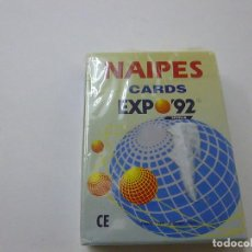 Baralhos de cartas: BARAJA DE NAIPES PUBLICIDAD DE LA EXPO 92 DE SEVILLA -N 2. Lote 239386020
