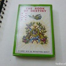 Jeux de cartes: LE LIVRE DU DESTIN - THE BOOK OF DESTINY / BARAJA TAROT / CARTOMANCIE GRIMAUD. Lote 239386505