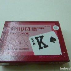 Barajas de cartas: PIATNIK SUPRA SOLITAIRE SIZE - N 2. Lote 239390455