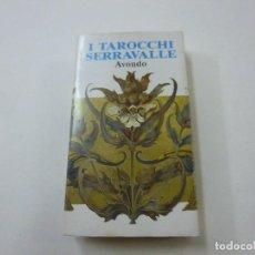Barajas de cartas: I TAROCCHI SERRAVALLE - AVONDO - PEQUEÑO TAROT -N. Lote 239425185