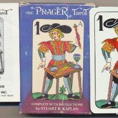 Baralhos de cartas: BARAJA THE PRAGER TAROT DECK. COMPLETO 54 CARTAS. U.S. GAMES SISTEMS. RARO, SIN USAR. Lote 239444605