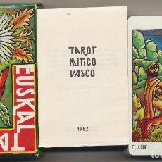 Jeux de cartes: TAROT MÍTICO VASCO. 78 CARTAS. HERACLIO FOURNIER 1982. MUY ESCASO, SIN USAR. Lote 239444625