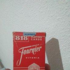 Barajas de cartas: VIEJA BARAJA DE PÓKER ESPAÑOL HERACLIO FOURNIER AÑOS 70-80. Lote 239596480