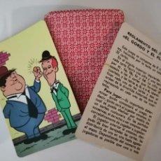 Mazzi di carte: BARAJA FOURNIER EL GORDO Y EL FLACO 1974. Lote 239821550