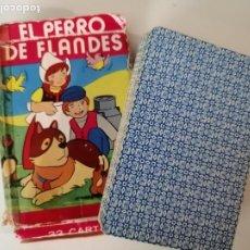 Barajas de cartas: BARAJA FOURNIER EL PERRO DE FLANDES. Lote 239823505