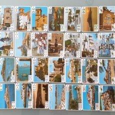 Barajas de cartas: BARAJA DE CARTAS ESPAÑOLA - PEÑÍSCOLA, CASTELLÓN - NUEVA - KOLORHAM, AÑOS 90. Lote 239975845