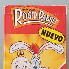 Mazzi di carte: ROGER RABBIT..BARAJA INFANTIL HERACLIO FOURNIER. Lote 240060200