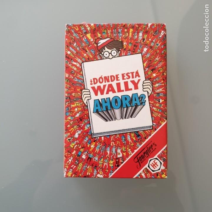 ¿DONDE ESTA WALLY AHORA? - BARAJA DE CARTAS COMPLETA HERACLIO FOURNIER 1991 (Juguetes y Juegos - Cartas y Naipes - Barajas Infantiles)