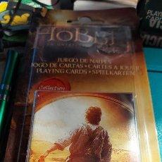 Barajas de cartas: BARAJA DE CARTA JUEGO DE NAIPES THE HOBBIT DE H.FOURNIER SIN ABRIR. Lote 240242050