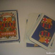 Barajas de cartas: HERACLIO FOURNIER,VITORIA, BARAJA DE 50 CARTAS DEL FTBOL CLUB BARCELONA.. Lote 240734185