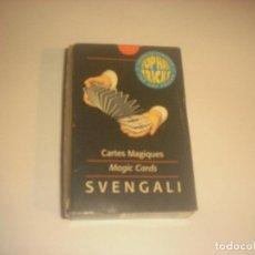 Barajas de cartas: SVENGALI .BARAJA DE CARTAS MAGICAS.. Lote 240734595