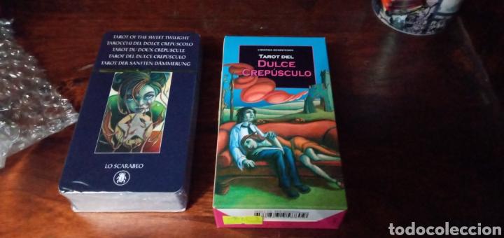 Barajas de cartas: TAROT DEL DULCE CREPÚSCULO. CRISTINA BENINTENDE.LO SCARABEO. - Foto 7 - 240769930