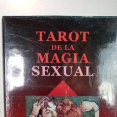 Barajas de cartas: TAROT DE LA MAGIA SEXUAL.LAURA TUAN.LO SCARABEO.. Lote 241040120