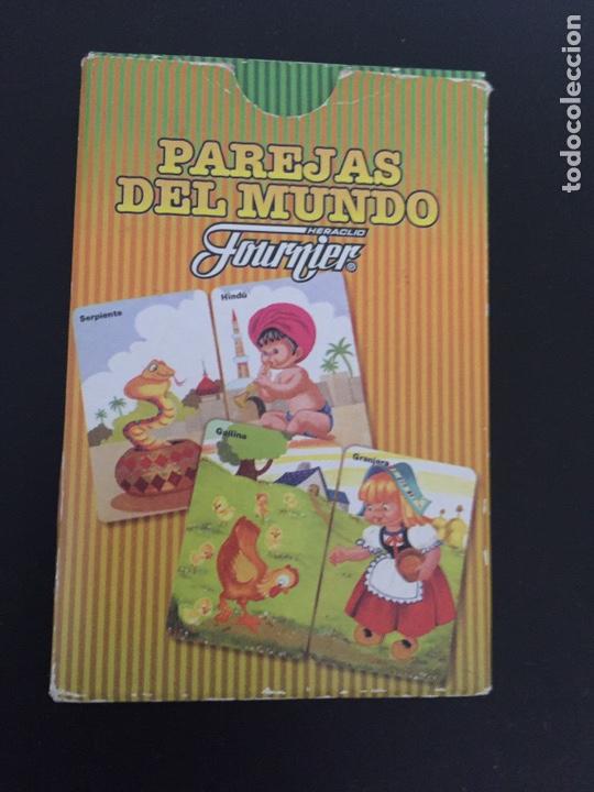 Barajas de cartas: Baraja cartas . Parejas del mundo - Foto 2 - 241177000