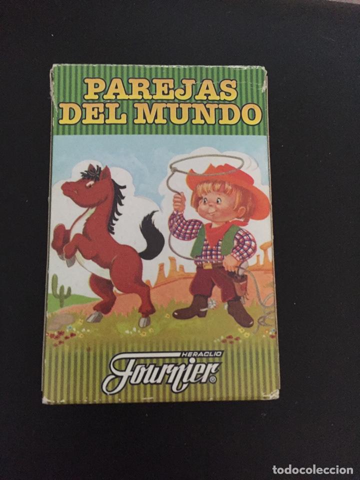 BARAJA CARTAS . PAREJAS DEL MUNDO (Juguetes y Juegos - Cartas y Naipes - Barajas Infantiles)