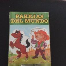Barajas de cartas: BARAJA CARTAS . PAREJAS DEL MUNDO. Lote 241177000
