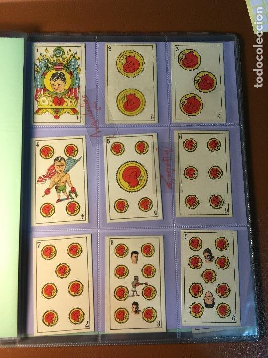 Barajas de cartas: LA BOXE , BARAJA CARTAS BOXEO , 48 CROMOS 6,X 9,5 cm . COMPLETA SIN PUBLICIDAD - Foto 2 - 241200775